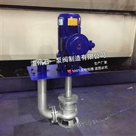 温州石一泵阀YWB防爆系列液下排污泵