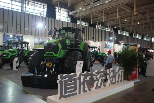 道依茨法尔精彩亮相龙都国际娱乐江苏国际农业机械展览会