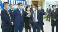 上合組織秘書長諾羅夫●弗拉基米爾到訪中國農機院