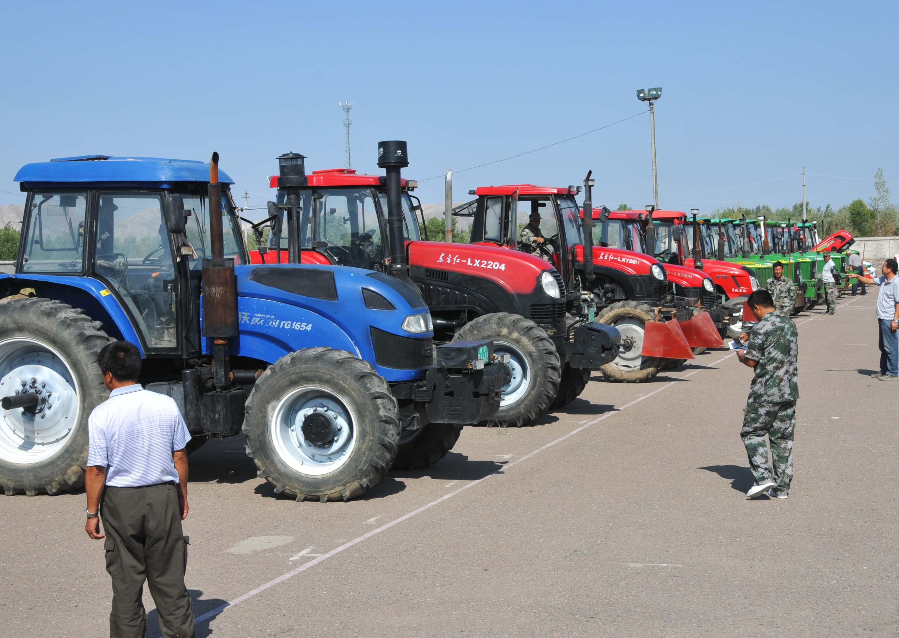 农机装备总量的进一步增长