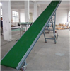 水平角度皮带输送机 耐高温输送带 轻型PVC食品输送机